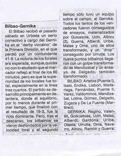Gernika Rugby Talde 986-87 Prentsa 012