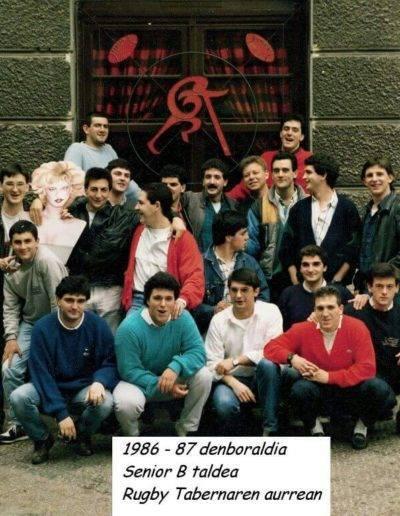 Gernika Rugby Talde 1986-87 GRT Senior B 1