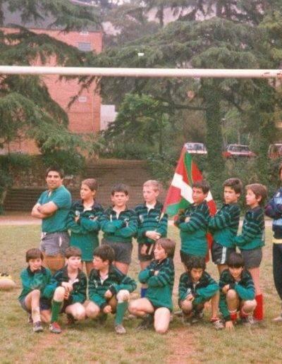 Gernika Rugby Talde 1986-87 Infantilak BCN