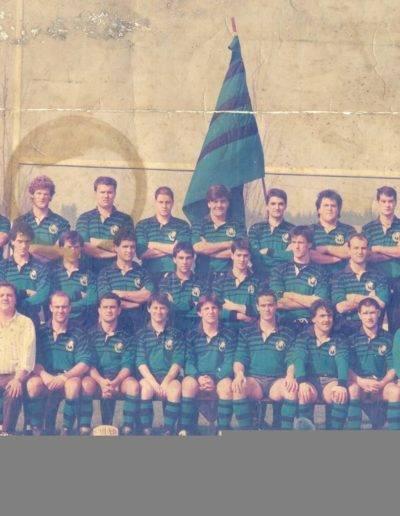 Gernika Rugby Talde 1988-89 senior