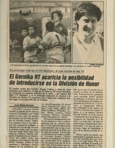 Gernika Rugby Talde 1989-90 Senior-002