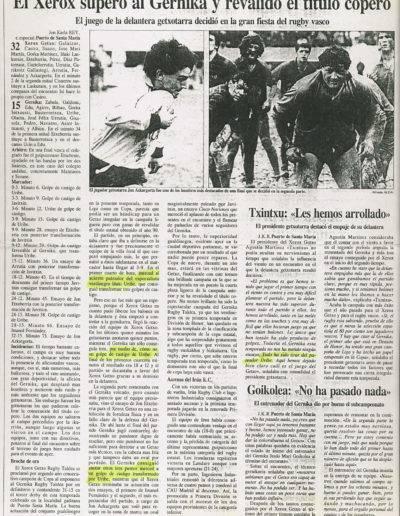 Gernika Rugby Talde 1990-91 Kopako Finala-035