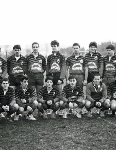 Gernika Rugby Talde 1990-91 jubenilak 001
