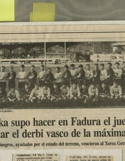 Gernika Rugby Talde 1991-02-18 Getxo-Gernika
