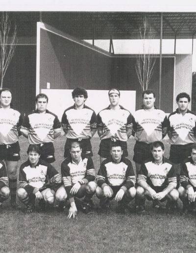 Gernika Rugby Talde 1991-92 Senior Aerolineas