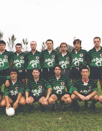Gernika Rugby Talde 1992-93 Senior Maila