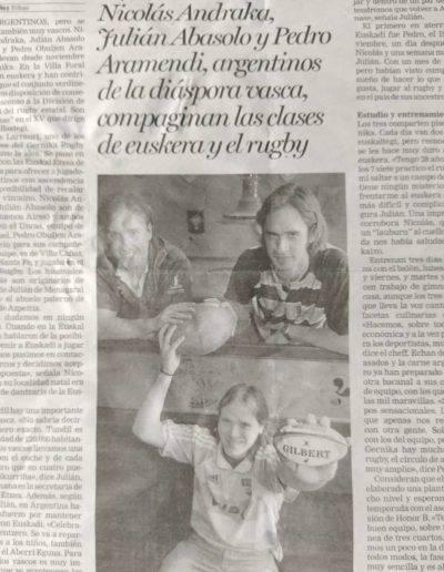 Gernika Rugby Talde Argentinos