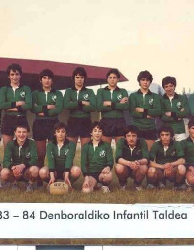Gernika Rugby Talde Equipo 19xx1983-84 Kadete maila