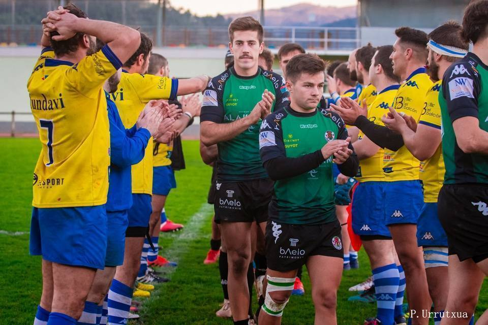 Gernika Rugby Talde Objetivo Pasillo