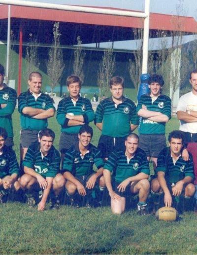 Gernika Rugby Talde Senior B 1990